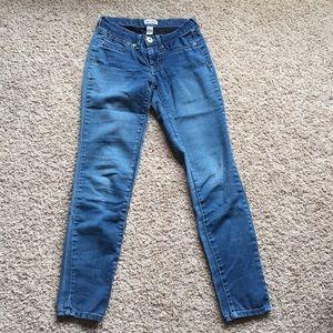 Mudd Medium Wash Skinny Jeans